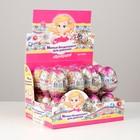 Яйцо с сюрпризом+милые безделушки для девочки, в шоу-боксе (кондитерское изделие) 6*24 20г