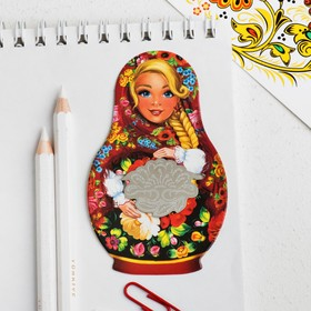 Закладка Russia in my heart, цветы Ош