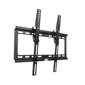 """Кронштейн Kromax IDEAL-4, для ТВ, наклонный, 22-65"""", 23 мм от стены, черный"""