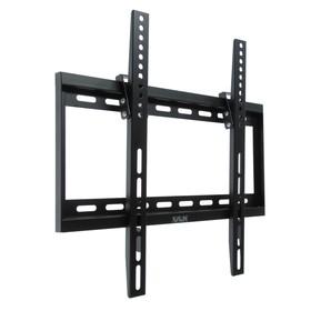 """Кронштейн VLK TRENTO-34, для ТВ, наклонный, 26-65"""", 26 мм от стены, черный"""