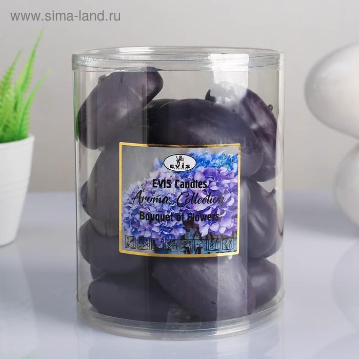 """Набор свечей- сердечек ароматизированных """"BOUQUET OF FLOWERS"""", плавающие, в тубусе, 15 шт"""
