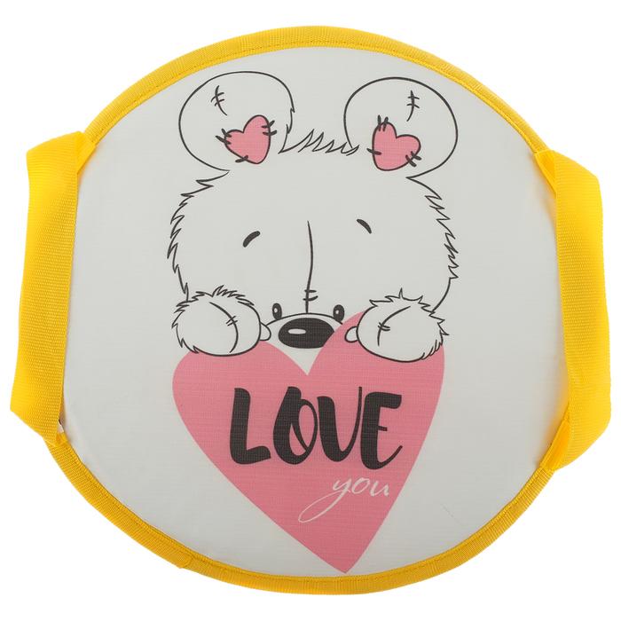 Санки-ледянки d=35 см, Love