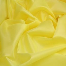 Ткань подкладочная, ширина 150 см, цвет жёлтый Ош