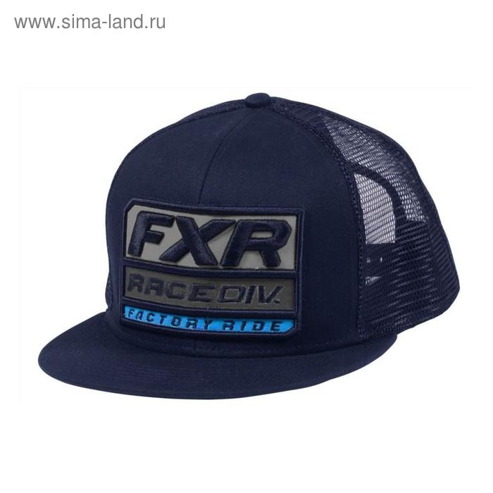 Бейсболка FXR Race Division, размер универсальный, синий