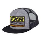 Бейсболка FXR Race Division, размер универсальный, серый, оранжевый
