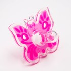 Пустышка цельносиликоновая, «Бабочка», контейнер,  классическая, от 0 мес., цвет розовый - Фото 2