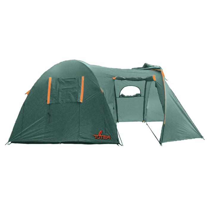 Totem палатка Catawba 4 (V2), цвет зелёный