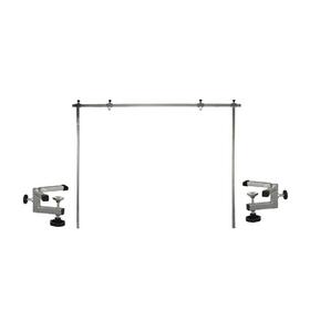 Стойка-кронштейн регулируемая, П-образный, для стола длиной до 120 см, усил. держатель, 80 см   4567 Ош