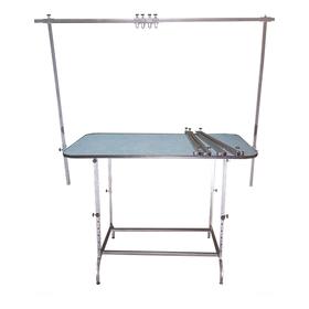 Стол для груминга складной, 120 х 70 см, высота 60 - 120 см, покрытие резина НПШ Ош