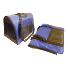 Сумка-переноска складная, с карманом и ремнем, 39 х 22 х 26 см, нейлон