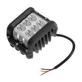 Противотуманная фара 12 LED (6 белых, 6 желтых), IP67, 36 Вт, 9-30 В, направленный свет Ош