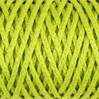"""Шнур для вязания """"Классик"""" без сердечника 100% полиэфир ширина 4мм 100м (салатовый)"""