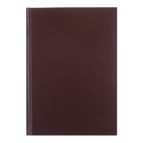 Ежедневник недатированный А5+, 136 листов Ideal new, бумвинил, коричневый Ош
