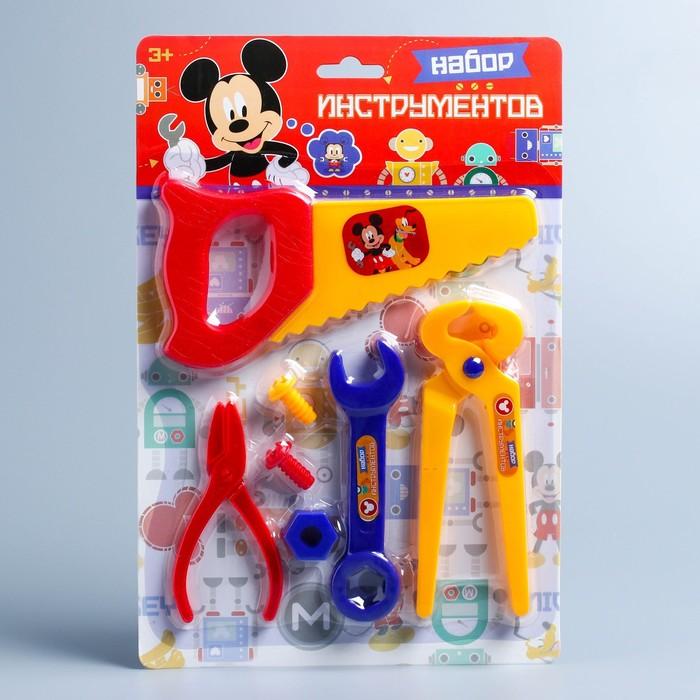 Набор инструментов Mickey Микки Маус, 7 предметов цвет МИКС