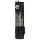 Чехол для йога-коврика (для коврика толщиной до 1,5 см), цвет чёрный