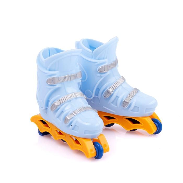 Пальчиковые роликовые коньки «Слалом», цвета МИКС