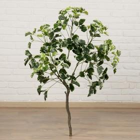 Дерево искусственное 'Листья с белыми прожилками' 110 см Ош