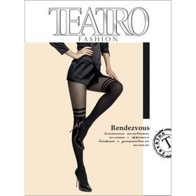 Колготки женские Rendezvous Fashion, цвет чёрный (nero), размер 4