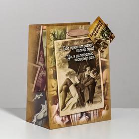Пакет ламинированный «Желательно несколько раз» интим, MS 18 × 23 × 10 см Ош