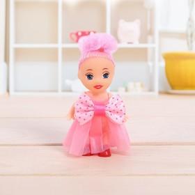 Кукла малышка «Кэт», в платье Ош