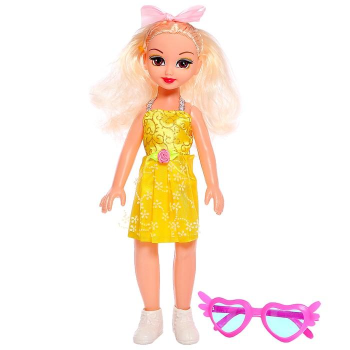Кукла классическая Даша в платье, с аксессуарами, МИКС