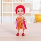 Кукла малышка «Ляля» с соской, МИКС