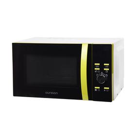 Микроволновая печь Oursson MD2351/GA, 1280 Вт, 23 л, 8 режимов, чёрно-зелёная