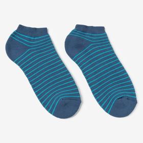 Носки женские махровые НЖ10-2745, цвет джинсовый, р-р 23-25