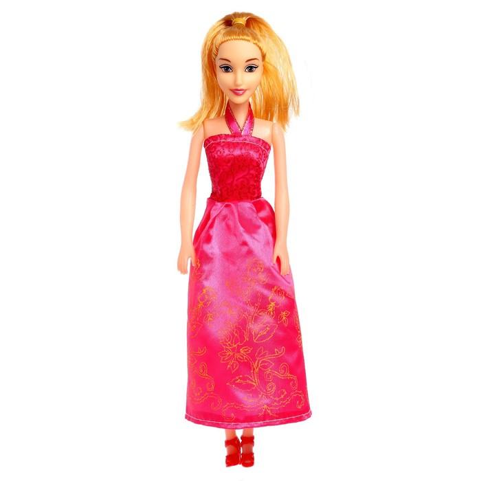 Кукла Принцесса в платье, МИКС