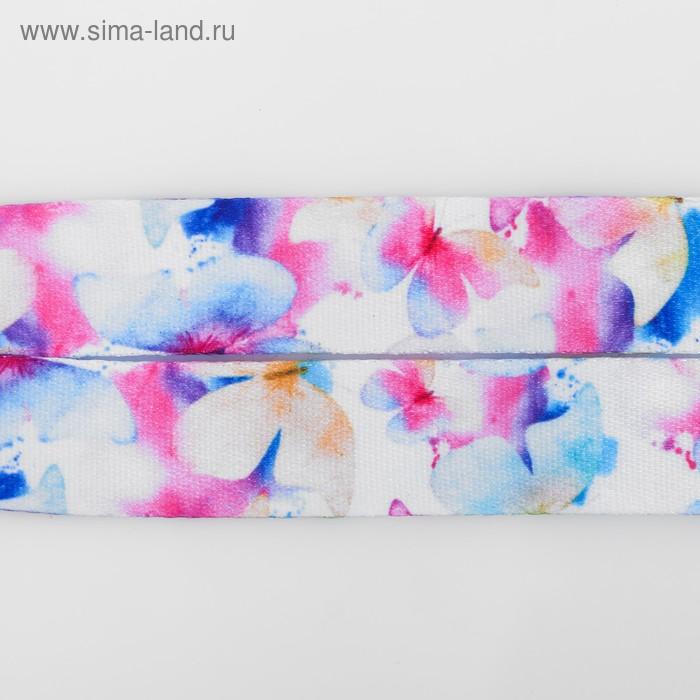 Лента для бейджа «Бабочки», 40×2 см