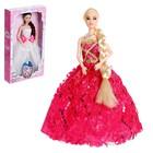 Кукла модель шарнирная «Алла» в платье, МИКС