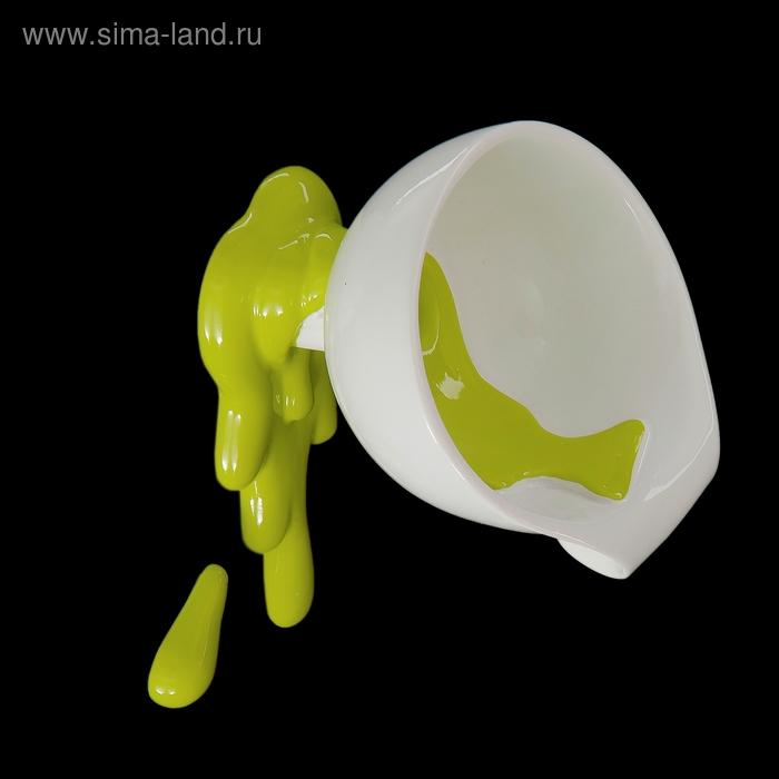 """Вешалка """"Воронка с зеленой краской"""""""