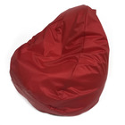 Кресло-мешок «Юниор», ширина 75 см, высота 100 см, красный, плащёвка