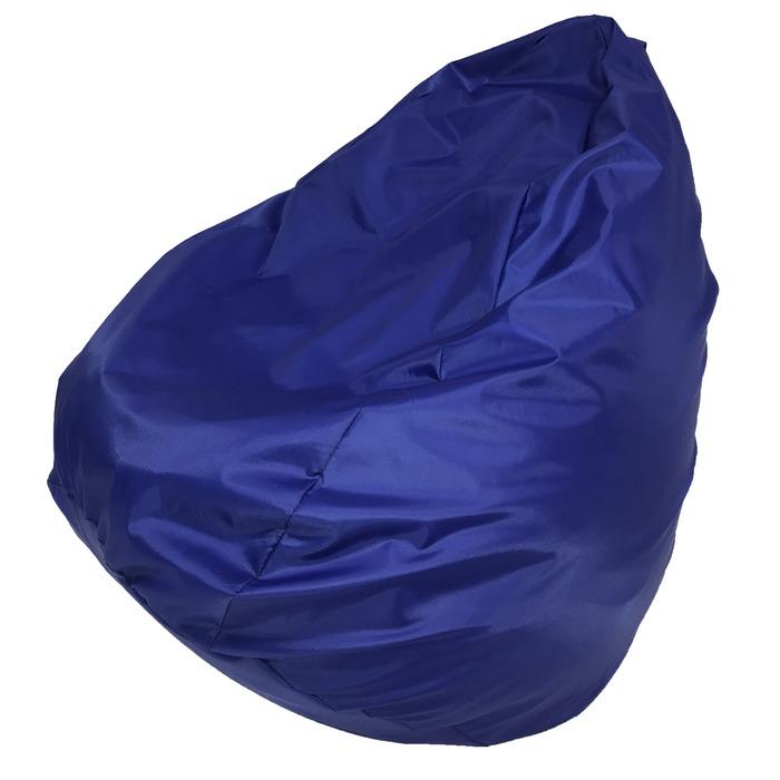 Кресло-мешок «Юниор», ширина 75 см, высота 100 см, синий, плащёвка