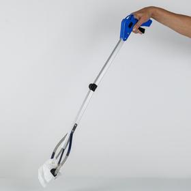 Захват для мусора 77×13,5 см, резиновые держатели, цвет МИКС Ош