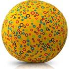 Воздушный мяч BubaBloon «Кружочки», от 3 лет, цвет жёлтый