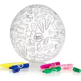 Воздушный мяч BubaBloon «Раскрась сам», от 3 лет