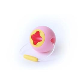 Игрушка для песочницы Quut Mini Ballo «Ведёрко», цвет розовый, жёлтый