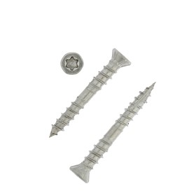Саморез для террасной доски INFIX, 5 х 40 мм, потайной, Torx25, нерж.сталь Ош