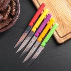 Нож «Эконом», лезвие 11,5 см, цвет МИКС - Фото 2