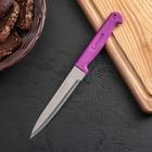 Нож «Эконом», лезвие 13 см, цвет МИКС - Фото 1