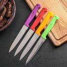 Нож «Эконом», лезвие 13 см, цвет МИКС - Фото 2