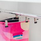 Вешалка для брюк и юбок с зажимами, 30×10 см - Фото 2