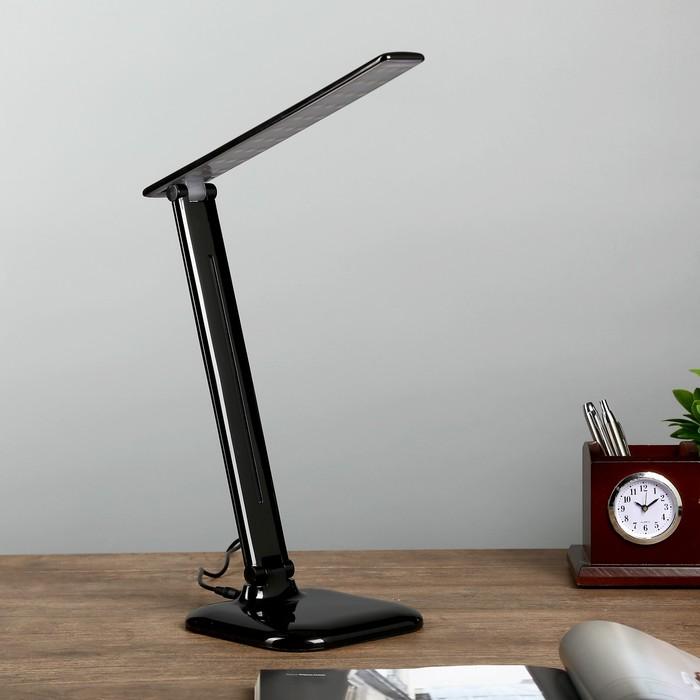 Настольная лампа на подставке NL30 E27 9Вт черный