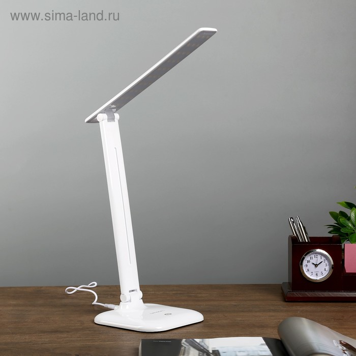 Настольная лампа на подставке NL31 LED 9Вт белый