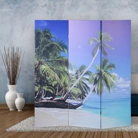Ширма 'Пальмы на пляже', 160 × 150 см Ош