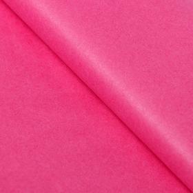 Бумага упаковочная тишью, красный, 50 х 66 см Ош