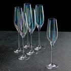 Набор бокалов для шампанского 210 мл Celebration, перламутр