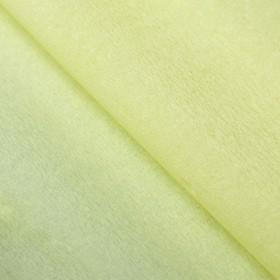 Бумага тишью гофрированная, цвет лимонный Ош