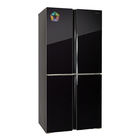 Холодильник HIBERG RFQ-490DX NFGB, класс А+, 440 л, Side by Side, Total No Frost, чёрный